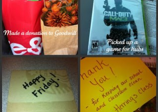 28 Random Acts of Kindness…