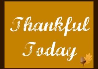 Birthday Wish List & Thankful Today