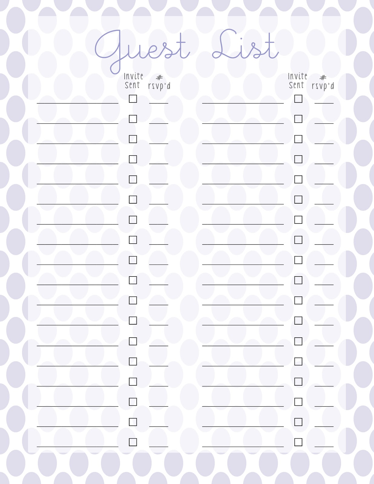 First Birthday Party Planning {Printables} - Leah With Love