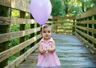To my daughter on your first birthday