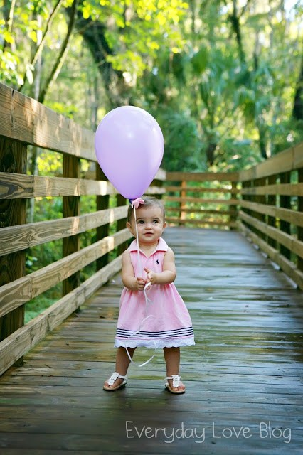 To my daughter on your first birthday - Leah With Love