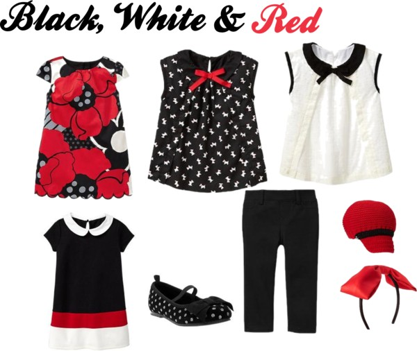 Black, White & Red