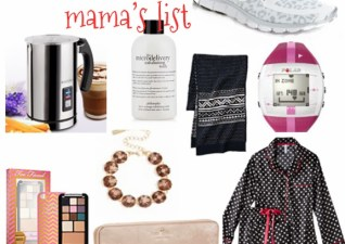 Dear Santa….mama & mini's lists