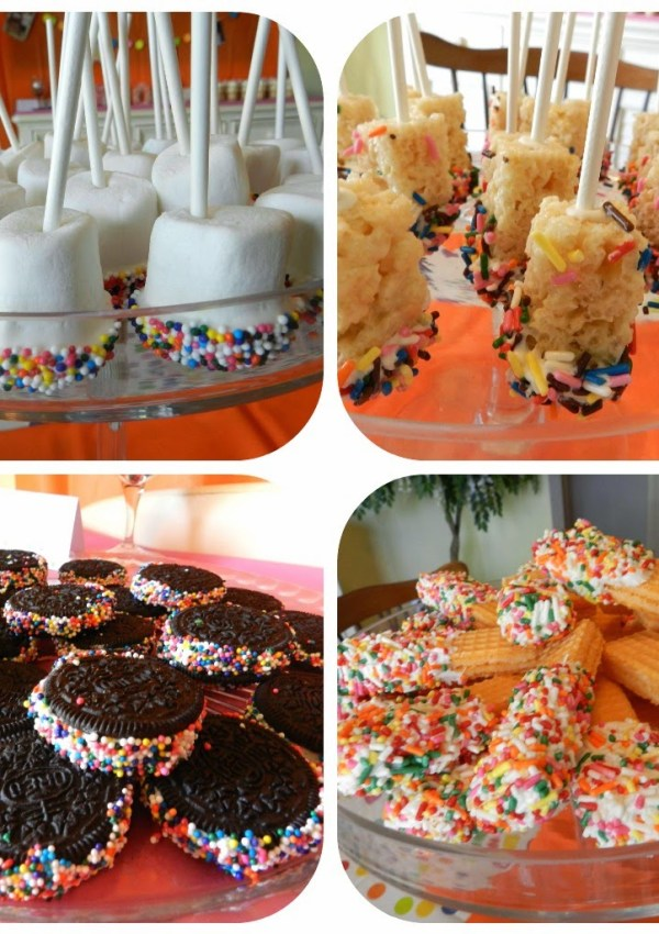 AG's 2nd Birthday Party- Sprinkles & Ice Cream