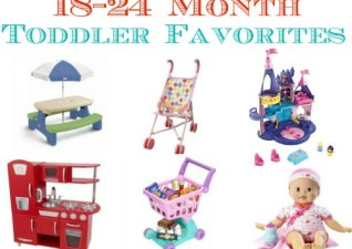 Favorite Toddler Toys 1-2 years old