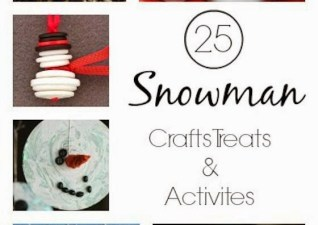 {Mommy School} Snowman Fun!