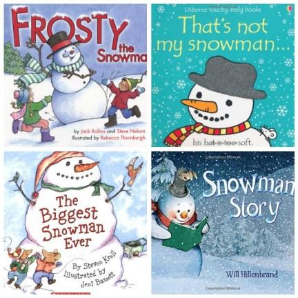 snowman books