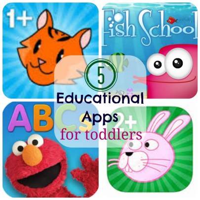 5 toddler educational apps