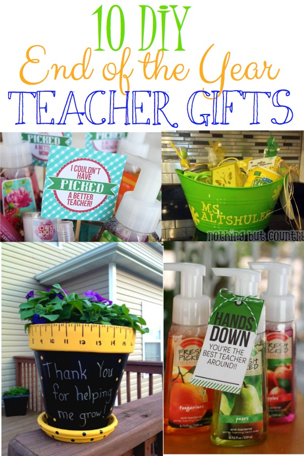 DIY End of the Year GIfts