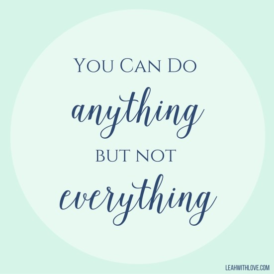 You Can Do
