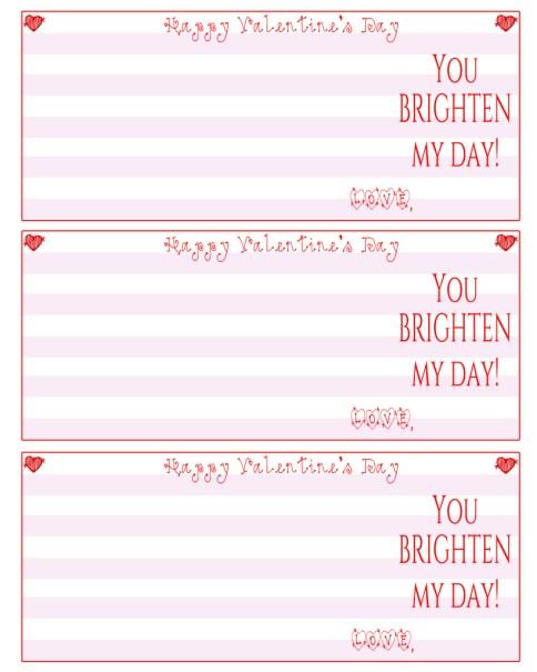 pink sunglass valentines