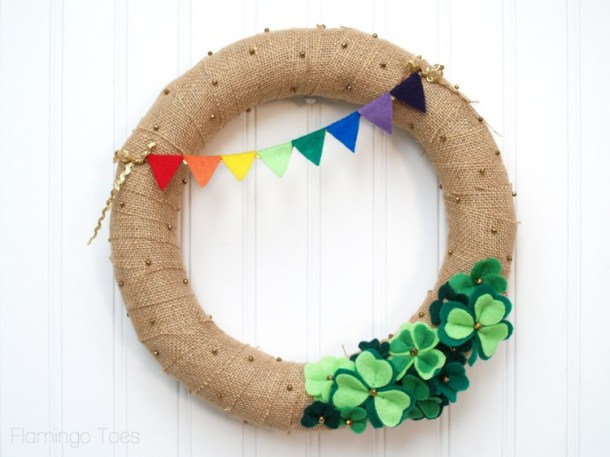 St-Patricks-Day-Burlap-Wreath