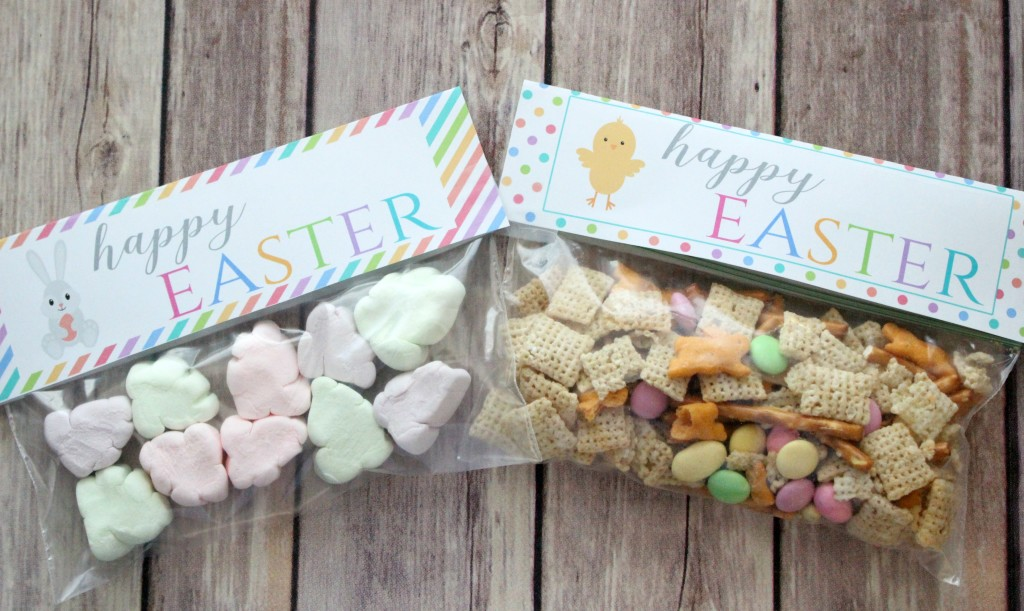 treat bag toppers Easter