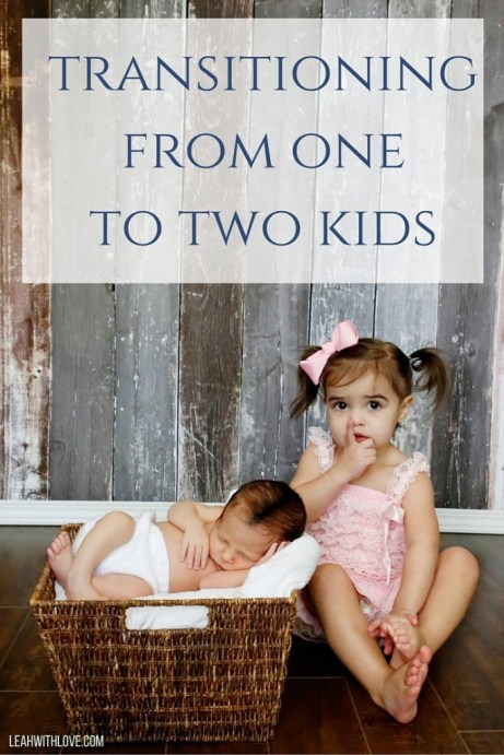 transitioning from one to two kids