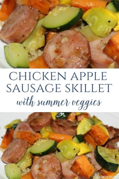 chicken apple sausage