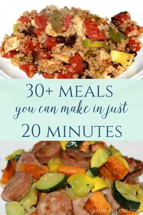 30+ Dinner Ideas
