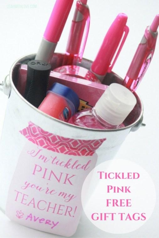Tickled PinkFREEGIFT TAGS
