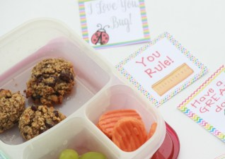 Breakfast Cookies & Printable Lunch Notes