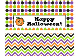 Happy Halloween Bag Toppers