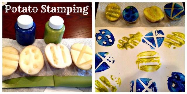 potato-stamping