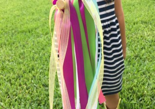 DIY Ribbon Wand