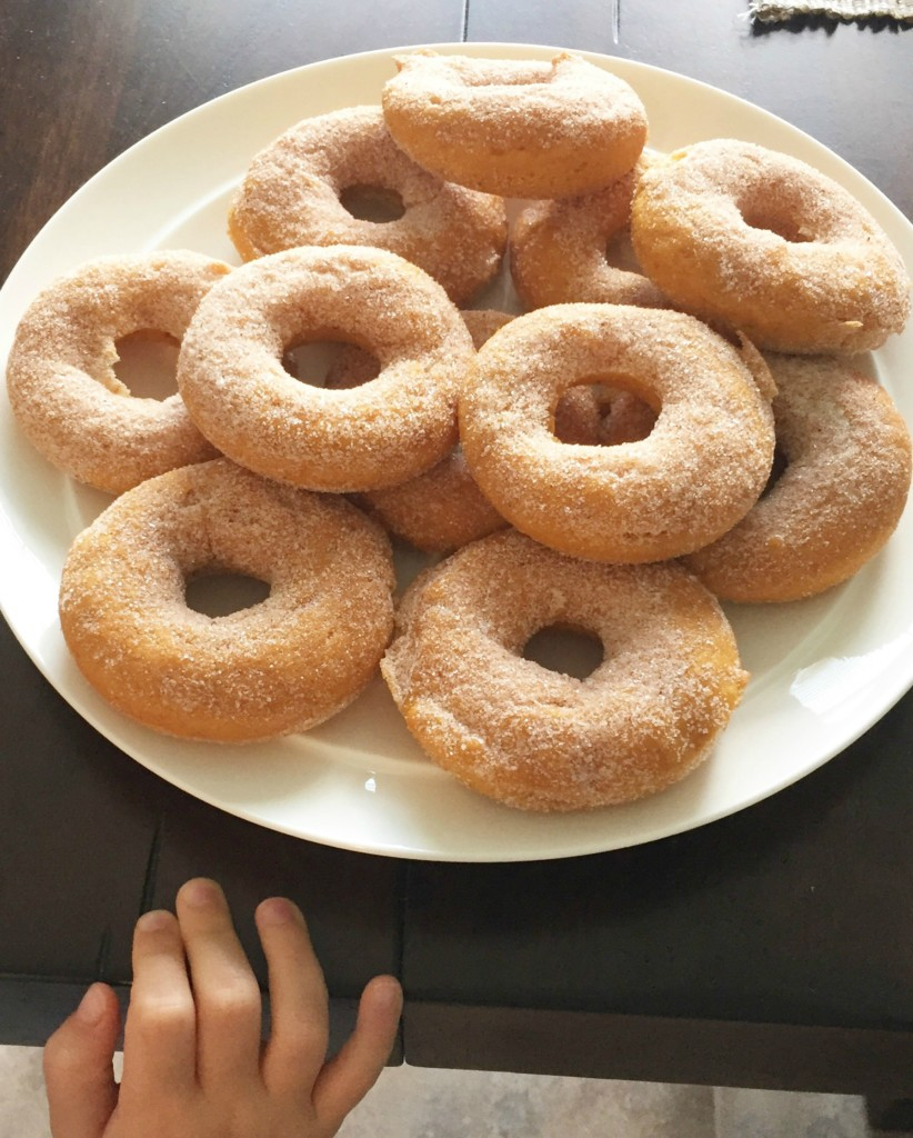 pumpkin donuts 3