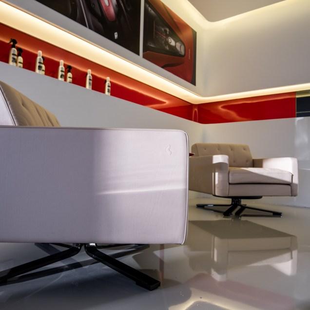 Lounge Lecoq riviera Ferrari