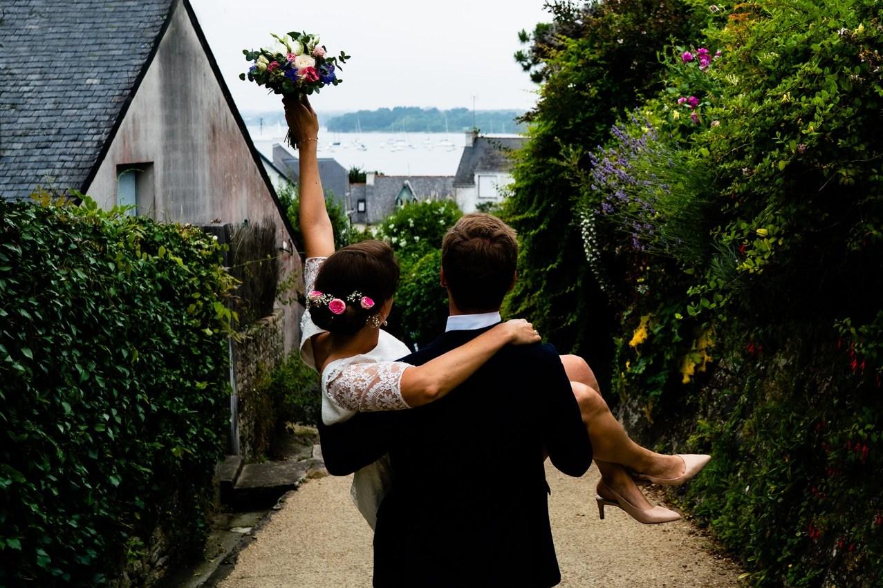 Mariés à l'Ile aux moines