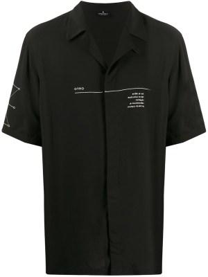 Abstract Shirt Black