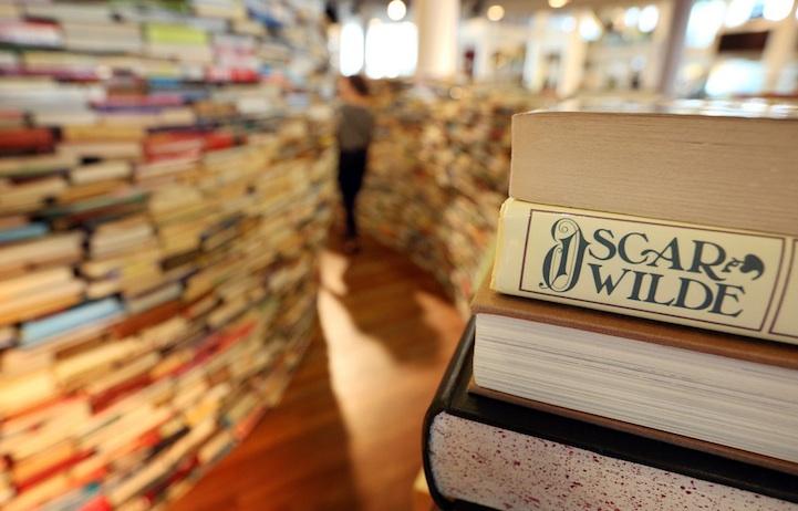 El trabajo se hixo con todo tipo de libros: donaciones de textos usados, e incluso algunos nuevos