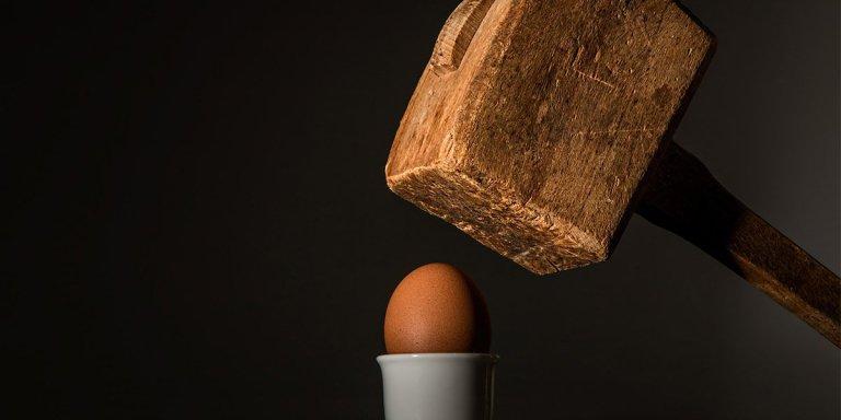 Maza y huevo