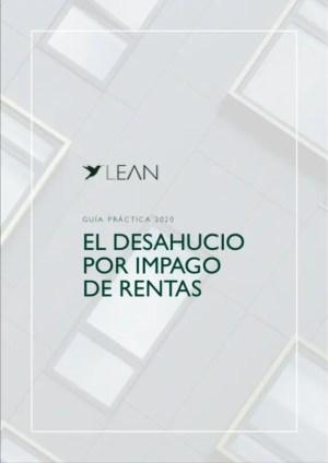 Desahucio por falta de pago de rentas | Guía PDF