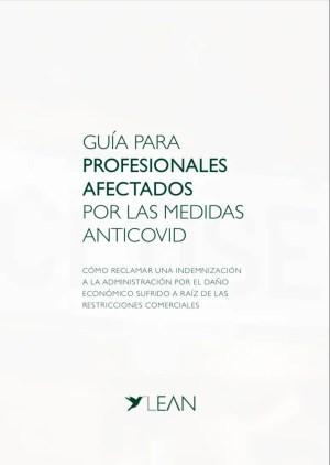 Profesionales afectados por las medidas anticovid | Guía PDF