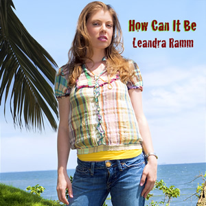 Leandra Ramm picture, wearing square colorful shirt for How Can It Be Album Cover