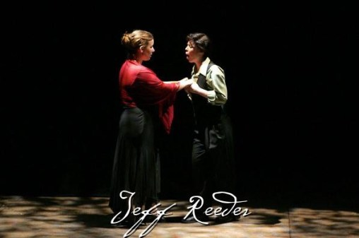 Leandra Ramm picture, performs in Jeff Reeves play Take One