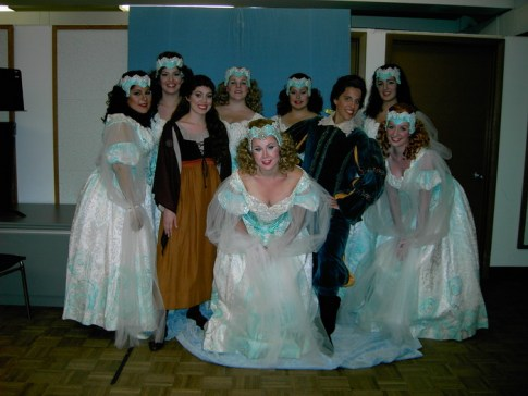 Leandra Ramm picture, with dancers
