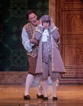 Cherubino in The Marriage of Figaro Opera San Jose 2015 Photos Courtesy of Bob Shomler