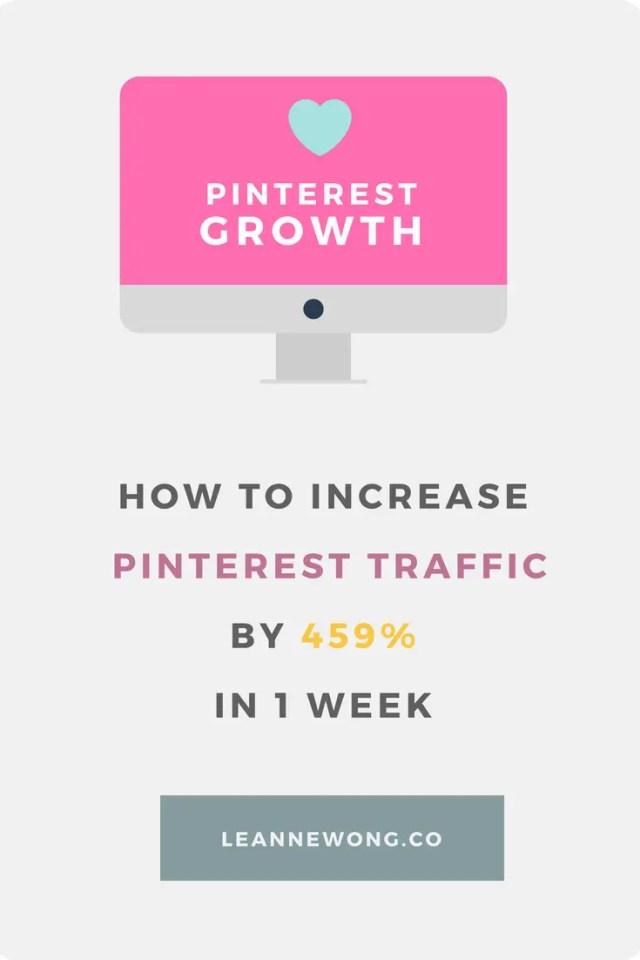 pinterest growth marketing blog traffic