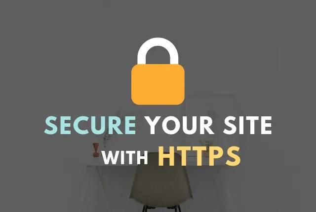 siteground free SSL certificate HTTPS
