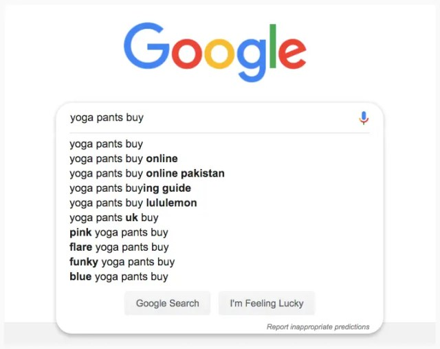 google-auto-suggest-yoga
