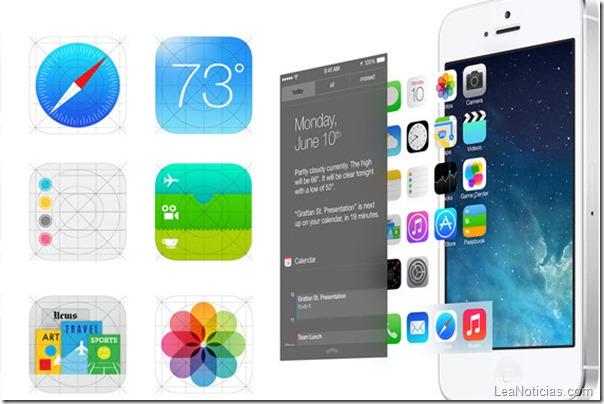 iOS7 iconos