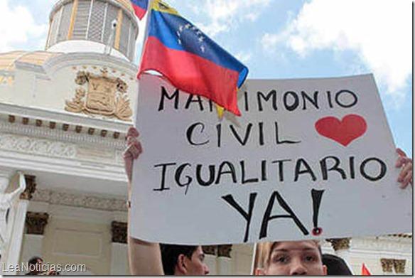 ley matrimonio igualitario vzla