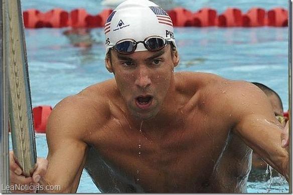 nadador olimpico