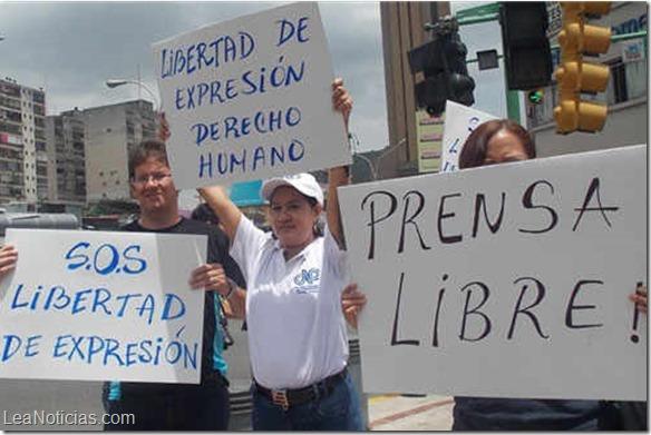 Estados Unidos reitera preocupación por la libertad de expresión en Venezuela