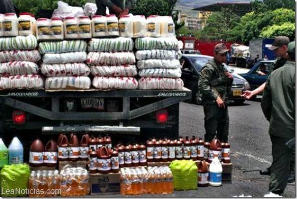 Ley colombiana busca castigar a los bachaqueros