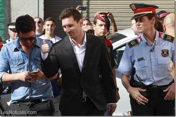 Lionel Messi es imputado por fraude fiscal de 4,1 millones de euros