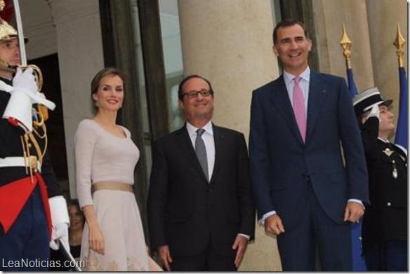 Los reyes de España llegaron a Francia en visita de Estado