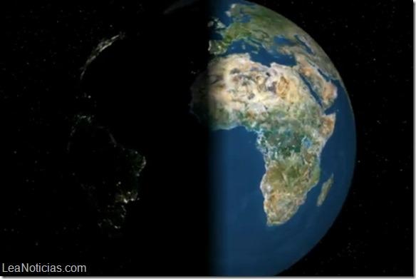 NASA La rotación de la Tierra se ralentiza paulatinamente