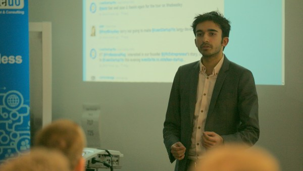 James Gupta at Lean Startup Yorkshire