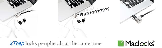Maclocks Cable Locks - xTrap / combo